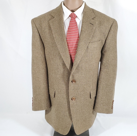 Mens LAUREN RALPH LAUREN Wool Tweed Blazer Jacket